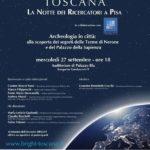 """""""L'evento Bright a Pisa: vivere e comunicare l'archeologia in città"""", di Caterina Pantani"""